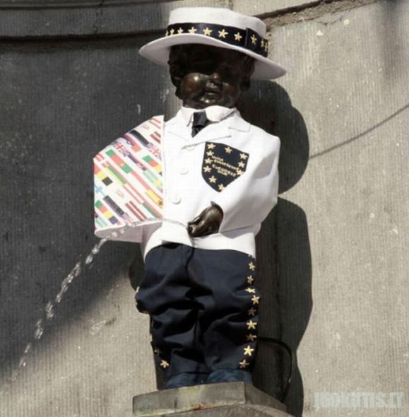 Besišlapinančio berniuko apranga