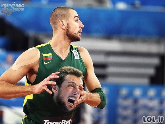 Lietuvos rinktinė iš linksmosios pusės