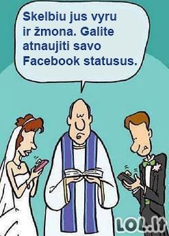Šiuolaikiškos vestuvės