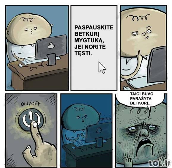 Idiotai prie kompiuterių