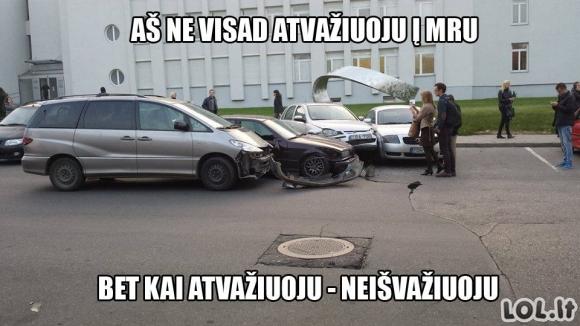 MRU vairuotojai - vunderkindai