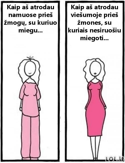 Merginų logika: apsirengimo stilius