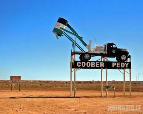 Požeminis miestas Australijoje