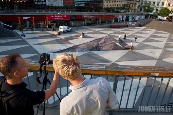 Optinė iliuzija Stokholme