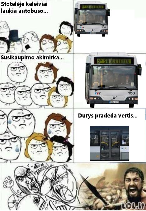 Vilniaus viešojo transporto naudotojai