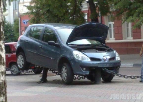 Parkavimas pagal moterį