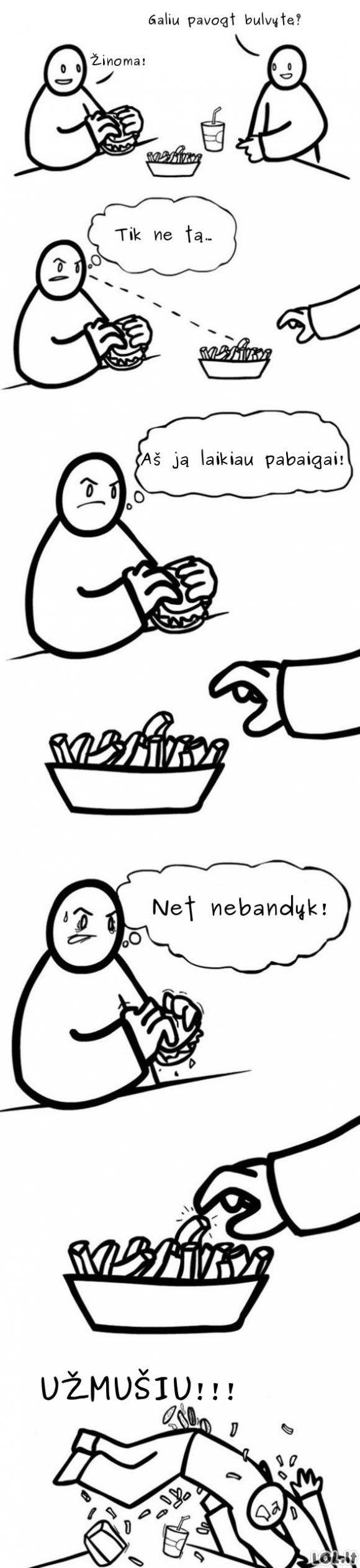 Išrinktoji bulvytė