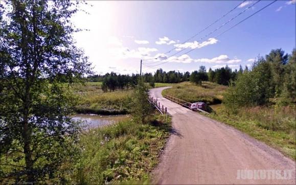 Google Street View kadrai