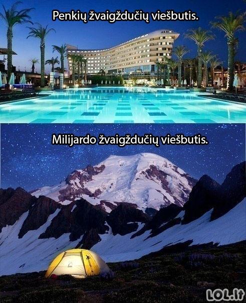 Prabangiausias viešbutis