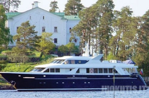 Rusijos patriarcho Kirilo jachta