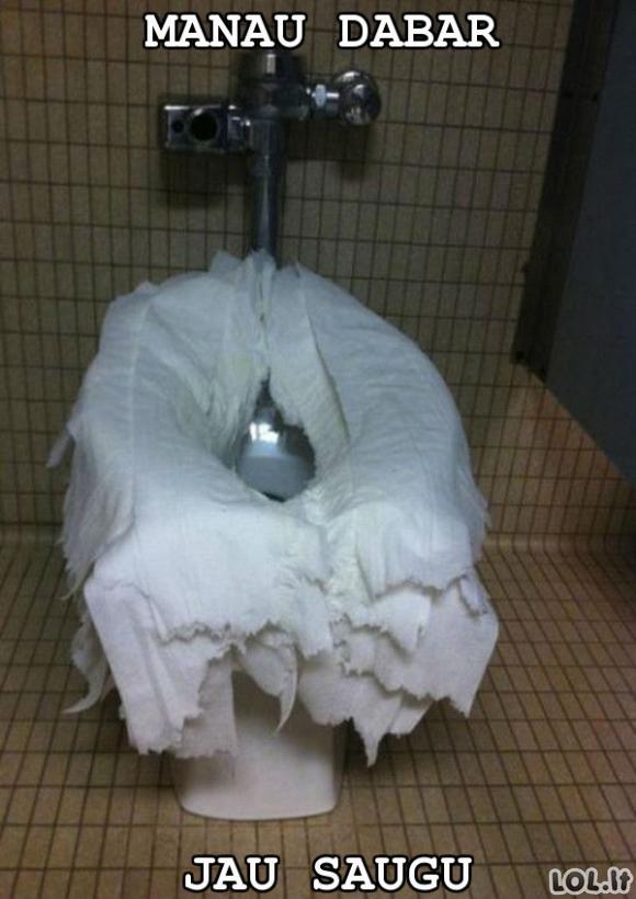 Saugiausias viešasis tualetas