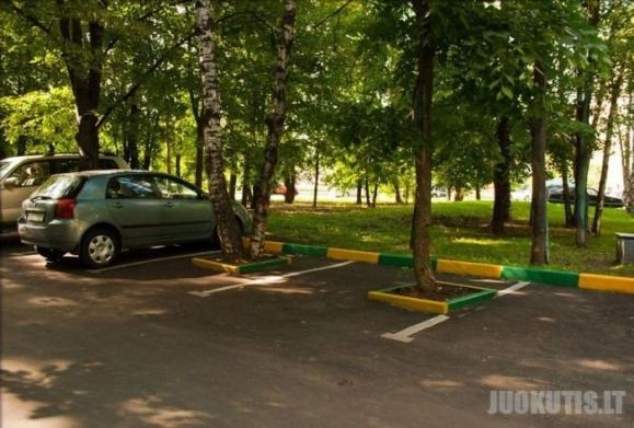 Nauja parkavimo forma