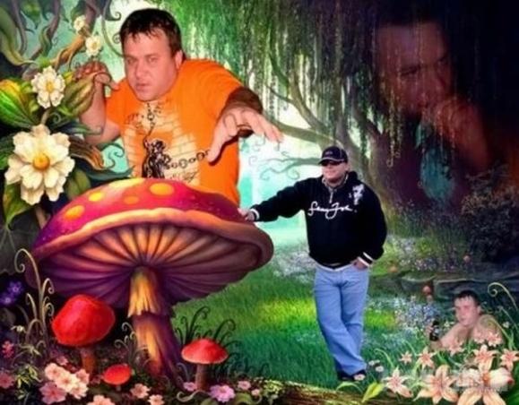 Photoshop meistrai ir žmonės iš siocialinių tinklapių