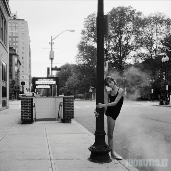 Niujorko balerinų fotoprojektas