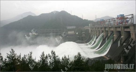 Kinija atidarė, Danubės upės užtvanką