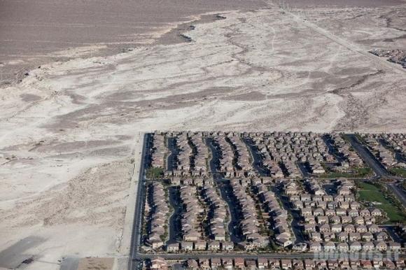 Las Vegasas iš paukščio skrydžio
