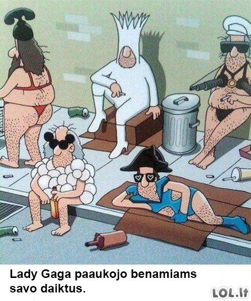 Duosnuolė Lady Gaga