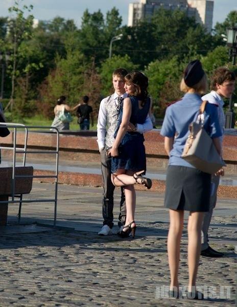 Baigimo išleistuvės Maskvoje