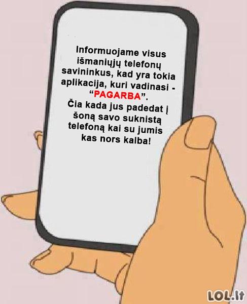 Mobilioji aplikacija, kuri yra būtina kiekvienam