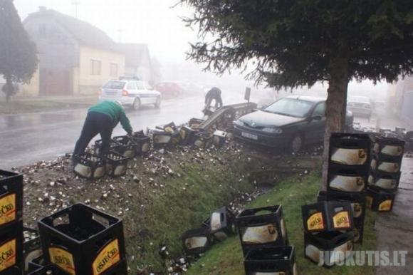 Alaus avarija Kroatijoje