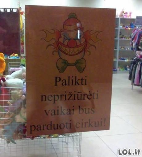Lietuvos prekybos centrų nesamonės