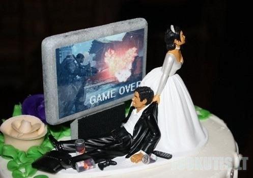 Patys kvailiausi vestuvių tortai