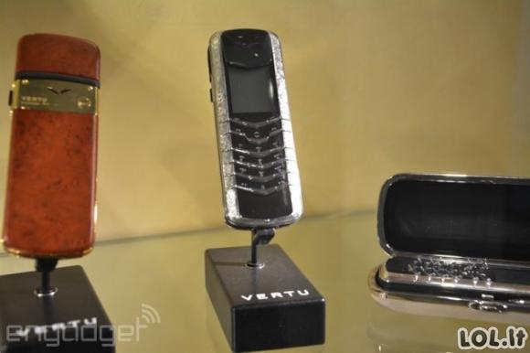 Brangiausių telefonų pasaulyje gamyba