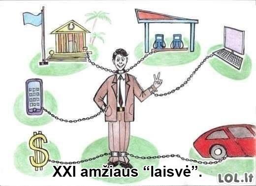 XXI amžiaus vergija
