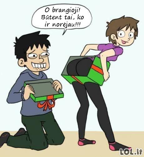 Geriausia dovana jūsų vaikinui
