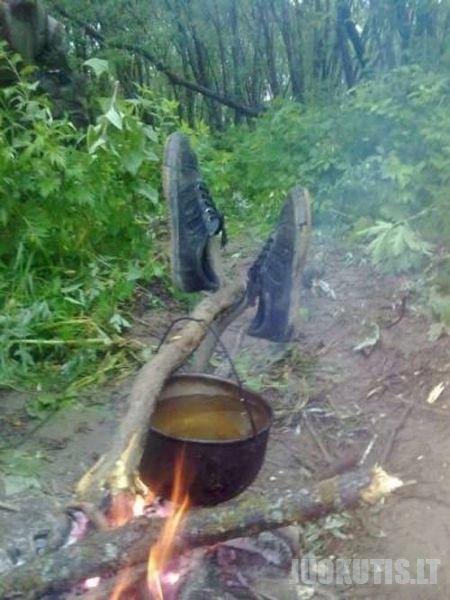 Rusiškos žvejybos ypatumai