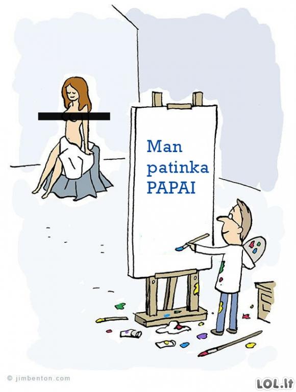 Kodėl dauguma dailininkų - vyrai?