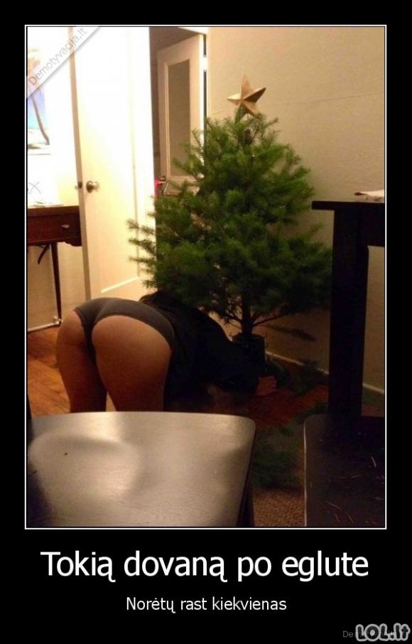 Vyriškiausia Kalėdinė dovana