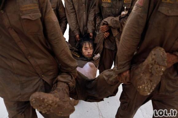 Kaip Kinijoje ruošiami sargybiniai