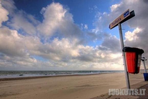 Keisčiausi paplūdimių ženklai