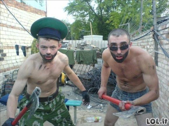 Rusai okupuoja Facebook'ą