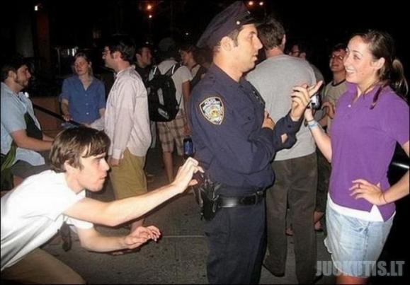 Sudėtinga policininkų tarnyba