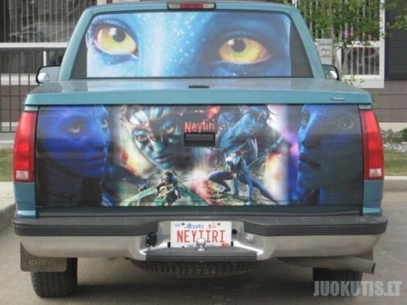 Filmo «Avataras» gerbėjas