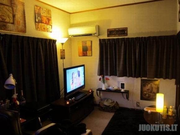 Japonijos gyventojų kambariai