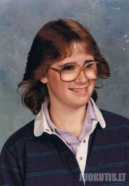 Mokyklos laikų nuotraukos į kurias baisu pažvelgti