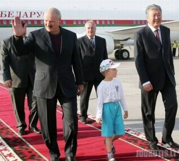 Aleksandro Lukašenkos sūnaus vaikystė