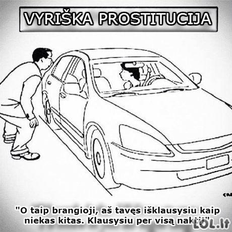 Prostitucija pagal vyrus