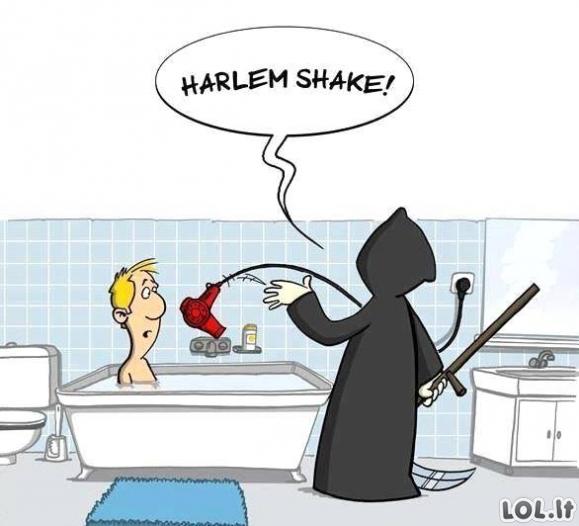 "Kaip išrado ""Harlem shake""?"