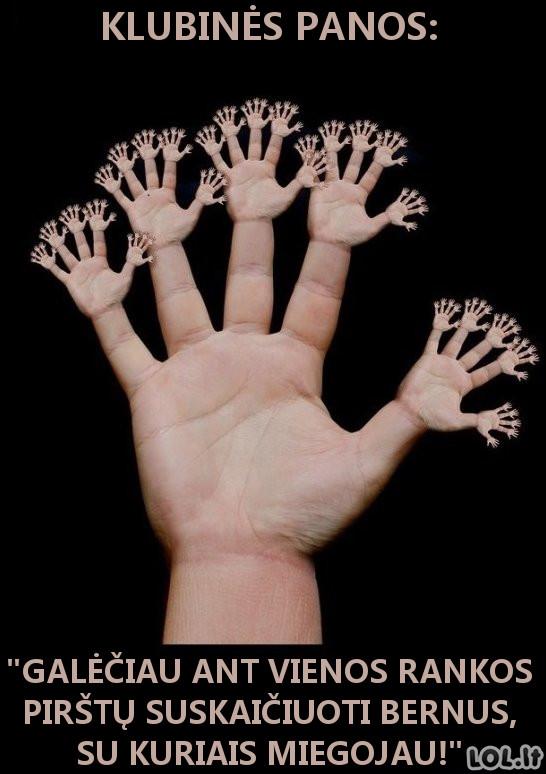 K**vų rankos