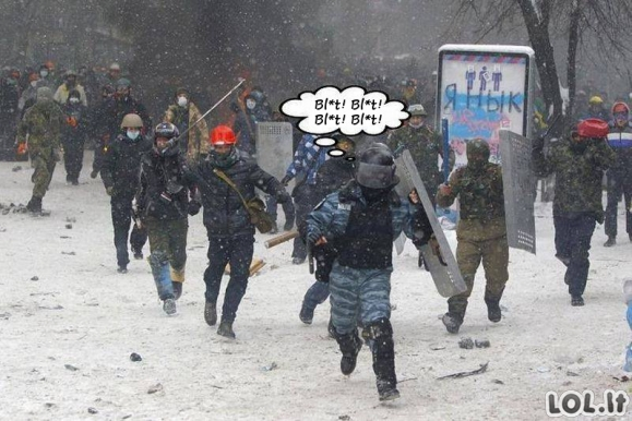Ukrainos kasdienybė