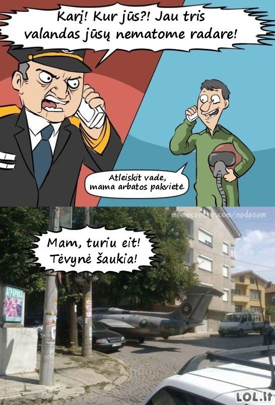NATO kariai Panevėžyje