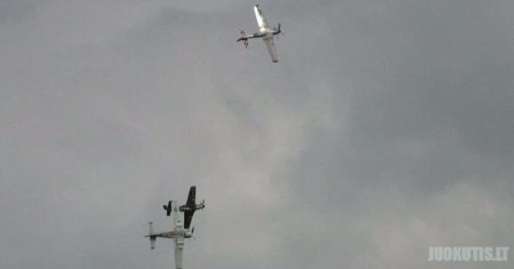 Lėktuvų susidūrimas ore