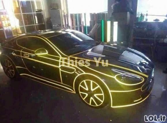 Nauja automobilių mada Kinijoje