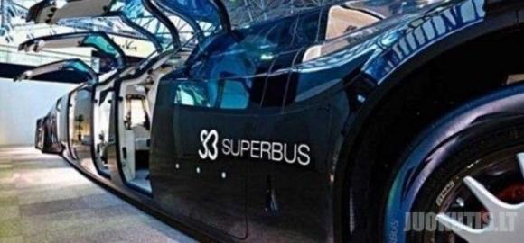 Pirmasis SuperBus pasiekė Dubajų