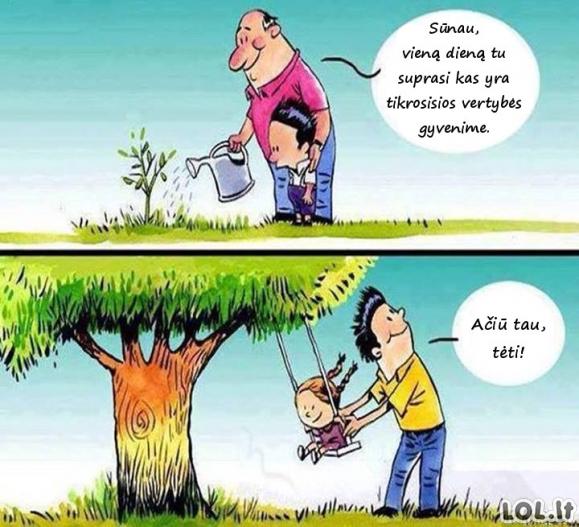 Tinkamas tėvo auklėjimas