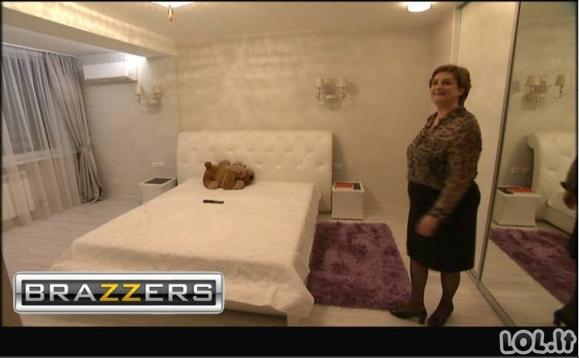 Siautūlingas Loretos Graužinienės miegamasis